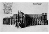 Wenceslas Hollar (London, Westminster Abbey) Art Poster Print Prints