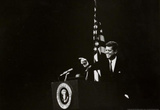 President John F Kennedy Pointing Photo Print Poster Masterprint