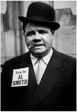 Babe Ruth Campaigning for Al Smith Archival Photo Sports Poster Print Prints