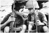 Vietnam War Kids Smoking Archival Photo Poster Print Posters
