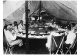 President Warren Harding (Lunch with Thomas Edison & Henry Ford) Art Poster Print Photo