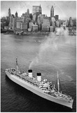 New York City Harbor Ship Archival Photo Poster Print Posters