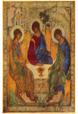 Andrej Rublev (Holy Trinity) Art Poster Print Posters