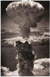 Atomic Bomb Mushroom Cloud Archival Photo Poster Print Masterprint