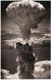 Atomic Bomb Mushroom Cloud Archival Photo Poster Print Tryckmall