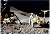 Moon Landing Archival Photo Poster Print Print