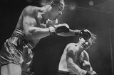 Joe Louis Punching Archival Photo Sports Poster Print Masterprint