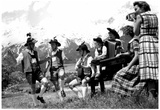 Tyrolian Dancers Archival Photo Poster Posters