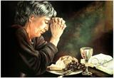 Rein Gratitude Prayer religious Art Print POSTER Jesus Posters