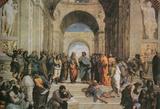 Raphael (The School of Athens) Art Poster Print Masterprint