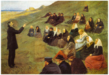 Anna Ancher The Missionary Art Print Poster Posters