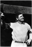Babe Ruth Salutes the Fans 1924 Archival Photo Sports Poster Print Poster