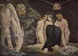 William Blake (Hekate) Art Poster Print Masterprint