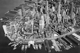 New York City Lower Manhattan Archival Photo Poster Print Masterprint