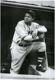 Babe Ruth Boston Braves Archival Sports Photo Poster Posters