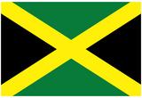 Jamaica National Flag Poster Print - Resim