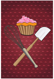 Bakers Delight Cupcake Print Poster Poster