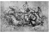 Leonardo da Vinci (Neptune) Art Poster Print Prints