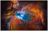 Orion Nebula Brilliant Space Photo Poster Print Masterprint