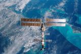 International Space Station (Over Miami) Art Poster Print Masterprint