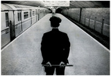 Policeman on New York City Subway Platform Archival Photo Poster Print Posters