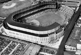 New York Yankees Original Yankee Stadium Aerial 2 Archival Photo Sports Poster Masterprint