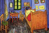 Vincent Van Gogh (Vincent's Bedroom) Art Poster Print Impresso de alta qualidade