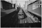 New York City City Hall Subway Train Archival Photo Poster Print Posters