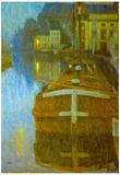 Baertsoen Ghent Art Print Poster Print