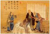 Katsushika Hokusai The Thousand Years Turtle Art Poster Print Plakater