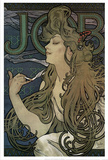Alphonse Mucha 1897 (Art Nouveau) Advertisement Poster Masterprint
