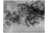 Leonardo da Vinci (Deluge) Art Poster Print Prints