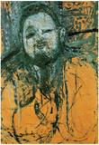 Amadeo Modigliani Portrait of Diego Rivera Art Print Poster Photo