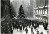 New York City Wall Street 1936 Archival Photo Poster Print Posters