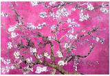 Van Gogh Almond Branches Pink Art Print Poster - Afiş
