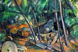 Paul Cezanne Mill Stone Art Print Poster Masterprint