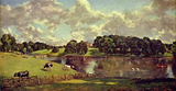 John Constable (Wivenhoe Park, Essex, home of the Major-Generals Rebow) Art Poster Print Masterprint