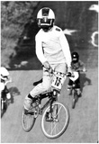 BMX Race 1991 Archival Photo Poster Posters