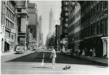 New York City Golf on Lexington Avenue 1957 Archival Photo Poster Print Posters