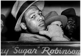 Sugar Ray Robinson Window 1947 Archival Photo Sports Poster Prints