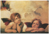 Raphael (Little Angels) Art Poster Print Posters