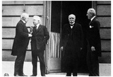 Peace Conference (David George, Georges Clemenceau, Vittorio Orlando, Woodrow Wilson) Posters
