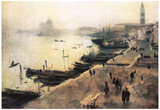 John Singer Sargent Venice in Bad Weather Art Print Poster Prints