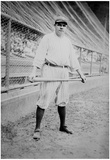 Babe Ruth with Bat Archival Sports Photo Poster Photo