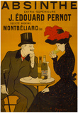 Absinthe Liquor Vintage Ad Poster Print Poster