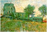 Vincent Van Gogh The Restaurant de la Sirene at Asnieres Art Print Poster Poster