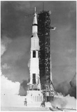 Rocket at Cape Kennedy 1976 Archival Photo Poster Print