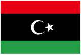 Libya Rebels National Flag Poster Plakater