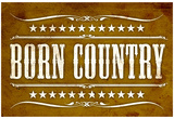 Proud to be Born Country Art Print Poster Posters