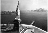 Statue of Liberty in New York Harbor Archival Photo Poster Print Prints